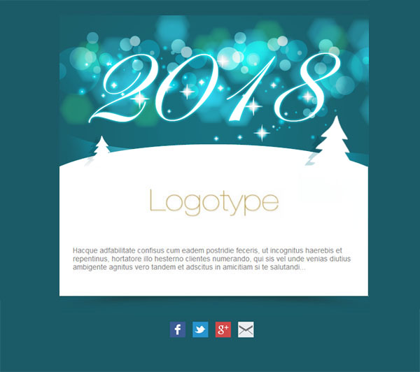 Free And Personalized Newsletter Templates For New Year