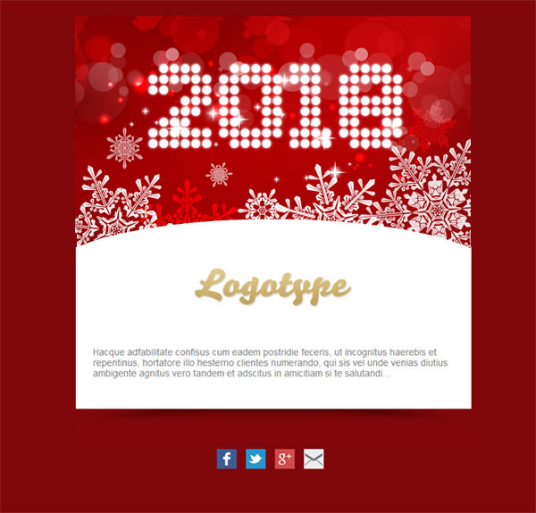 Templates Emailing Particle Ecard Sarbacane