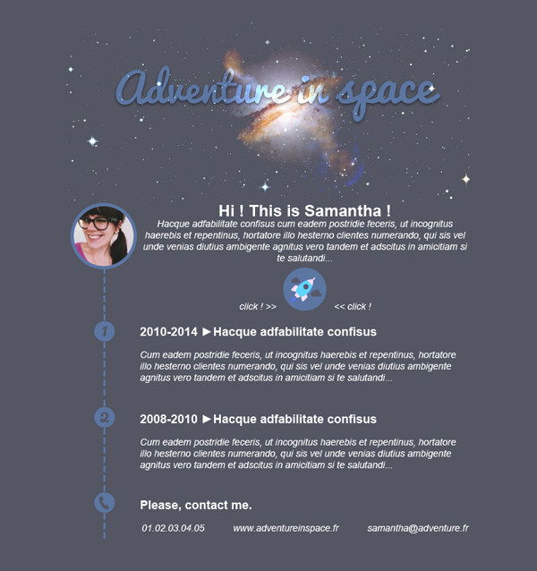 Templates Emailing AdventureInSpace Sarbacane