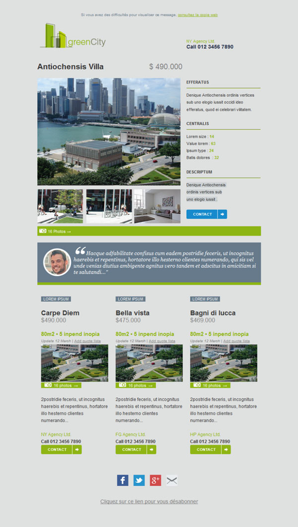 Free And Professional Newsletter Templates For Real Estate