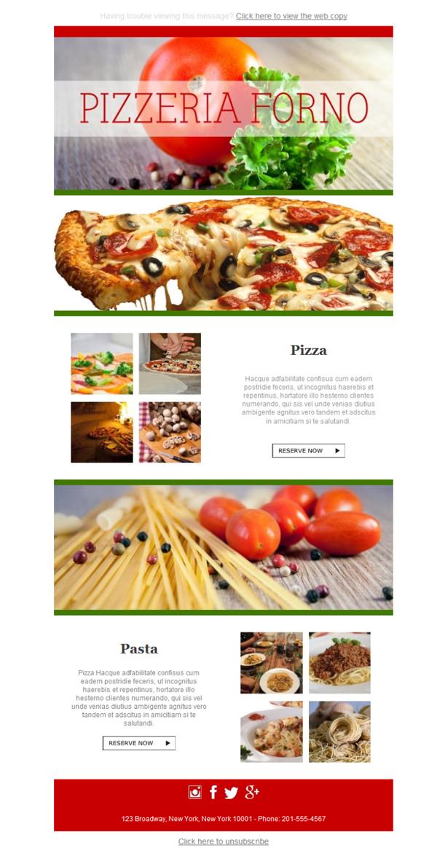 Plantilla de Newsletter Responsive Gratis \
