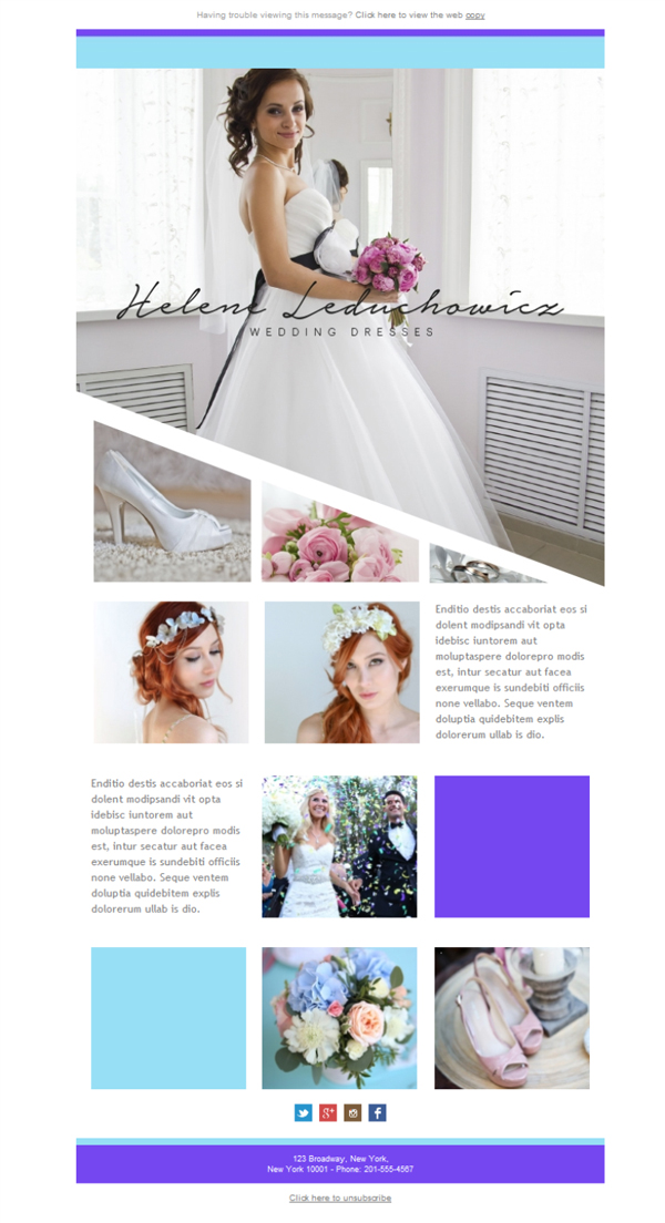 free email templates download design wedding dress. Black Bedroom Furniture Sets. Home Design Ideas