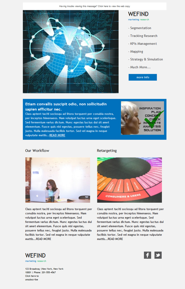 Free Email Templates Download Design Templatename