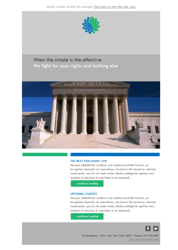 Templates Emailing Government News Sarbacane