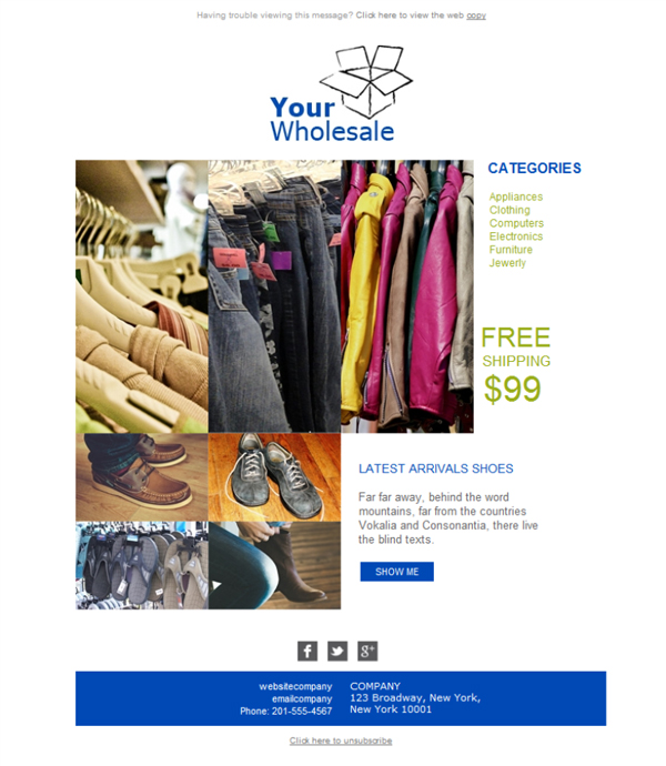 Templates Emailing Wholesale For You Sarbacane